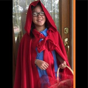 Other - Red riding hood costume handmade girls size 12-14
